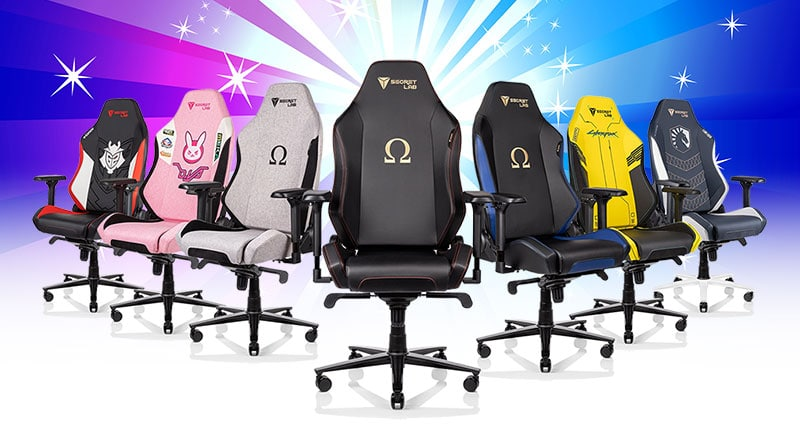 Best compact ergonomic esports chairs