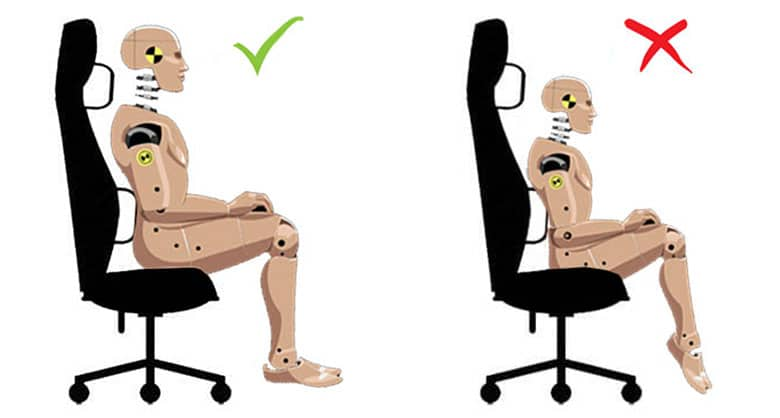 Choosing the right size ergonomic chair