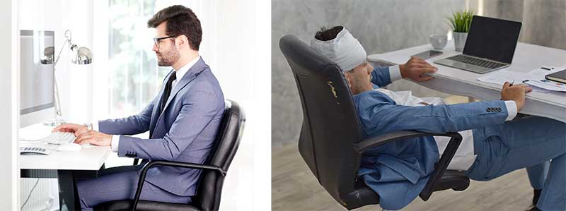 Office chair vs gaming chair comfort level