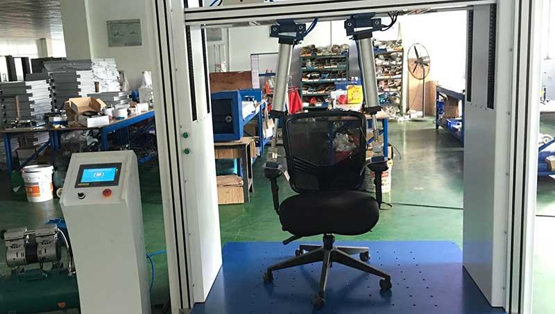 BIFMA chair testing procedure