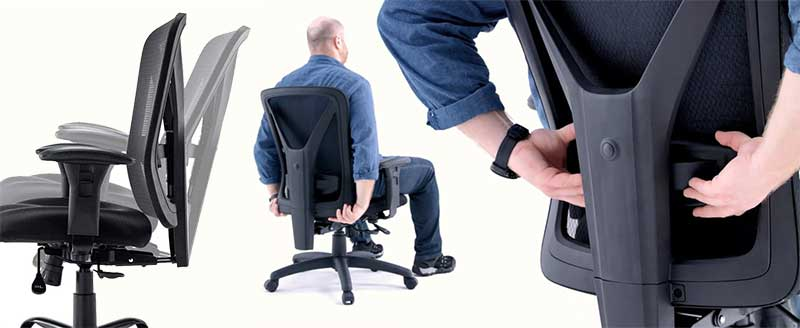 Wahson office chair features