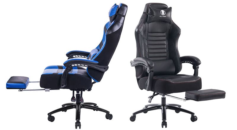 Killabee 8257 footrest gaming chair