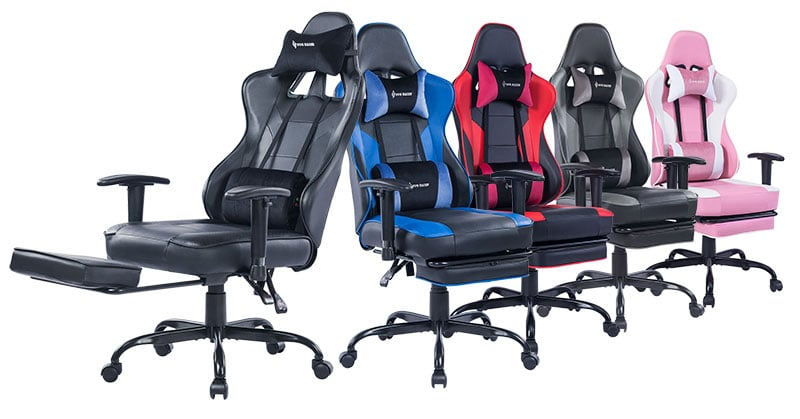 Von Racer 8280 gaming chair colors