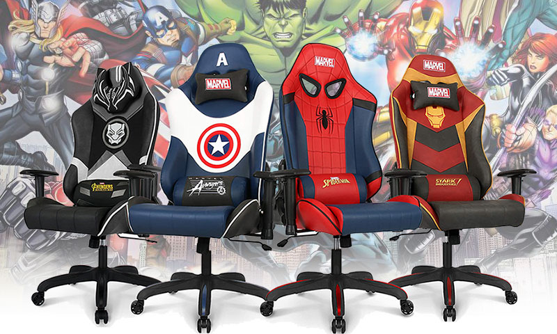 Marvel Avengers gaming chairs