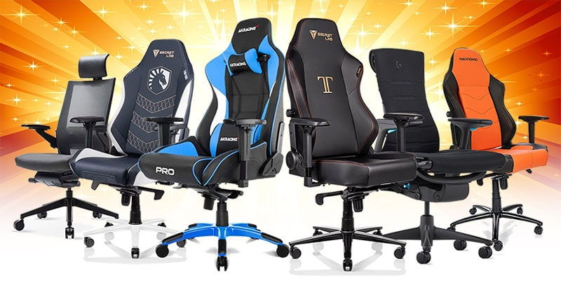 Best pro esports gaming chairs for video game players