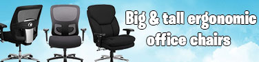 Best big and tall ergonomic office chairs