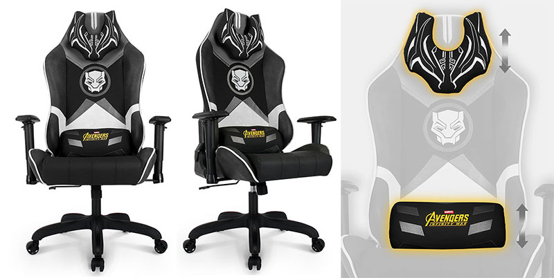 Back Panther gaming chairs