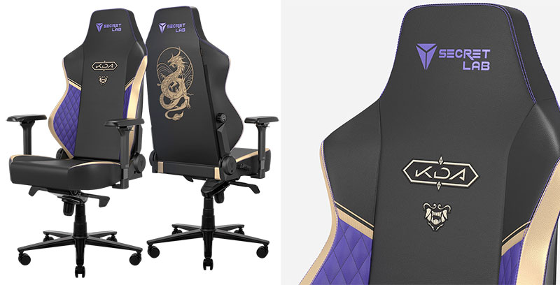 League of Legends K/DA gaming chair