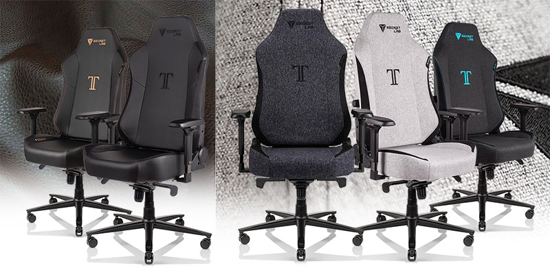 Secretlab Titan XL cover options cover