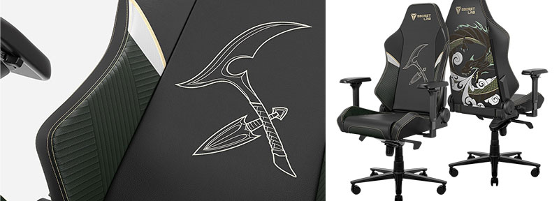 League of Legends Akali chair