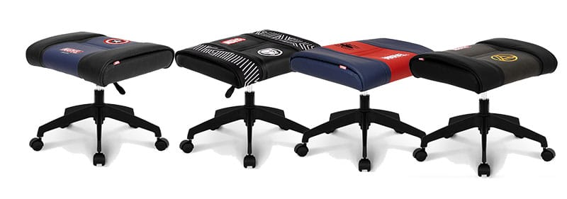 Neochairs Marvel gaming footstools
