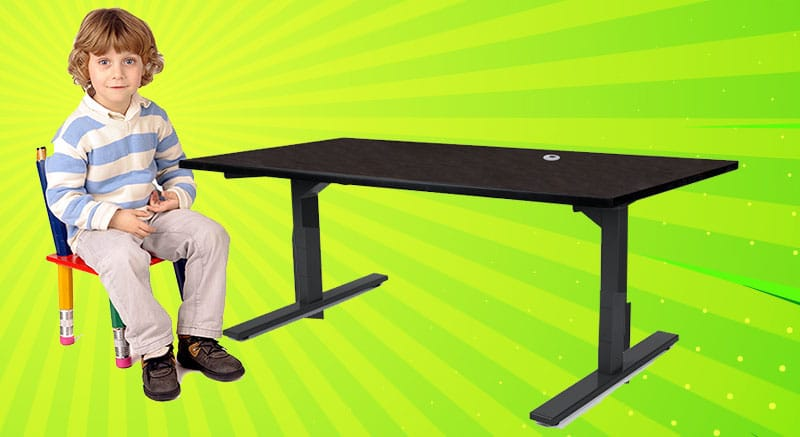 MotionGrey desk for kids