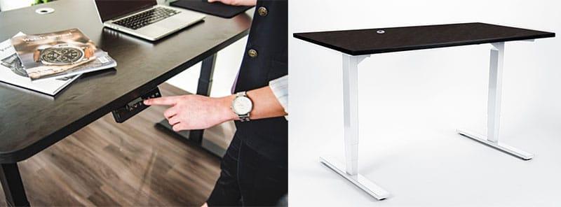 MotionGrey adjustable desks