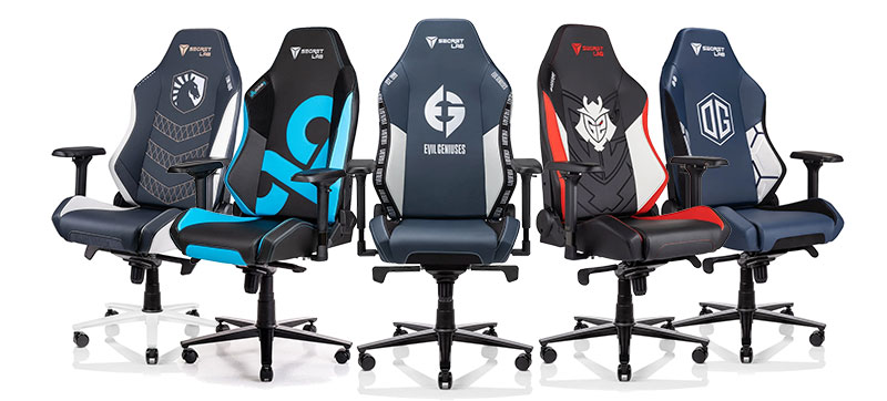 Secretlab Omega esports team chairs