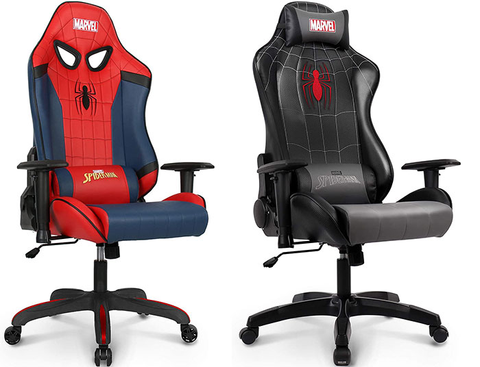 Spiderman gaming chairs