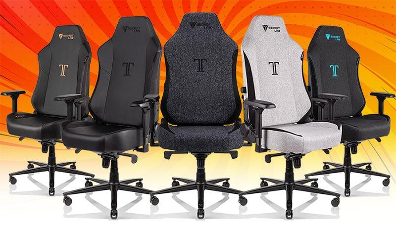 Secretlab Titan XL upholstery styles