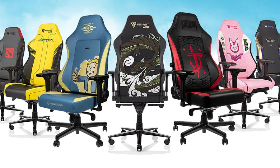 Official branded video game gaming chairs