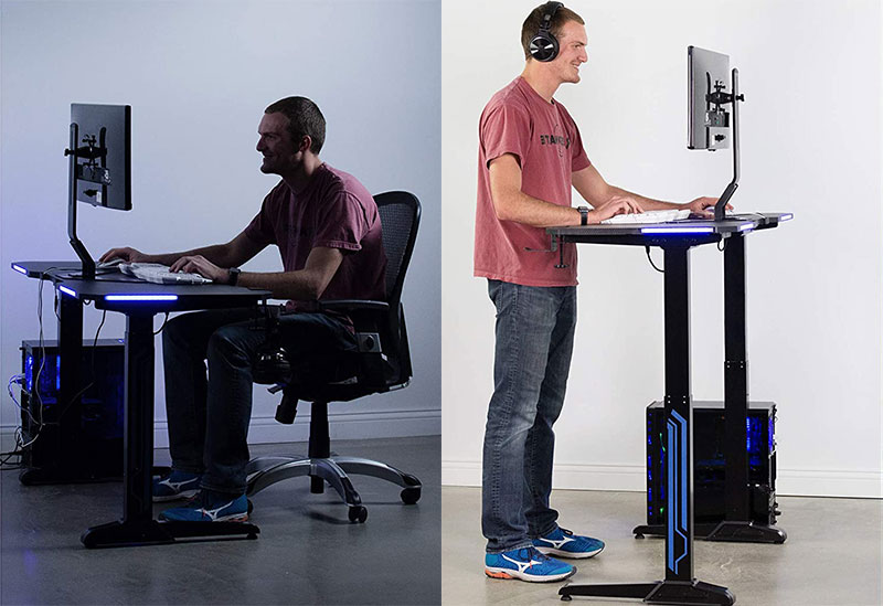 VIVO sit stand desk chair
