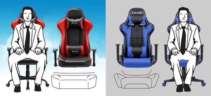 Von Racer chair seat style