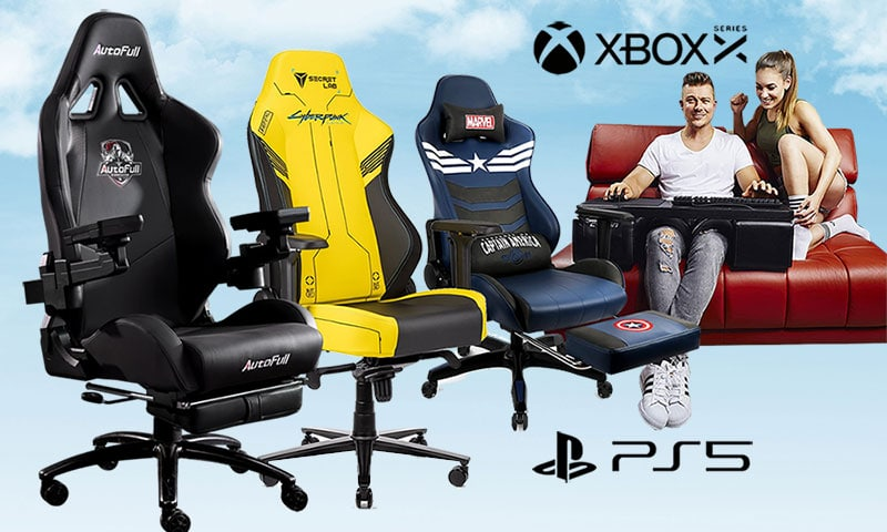 Best seating options for console gaming in a living room