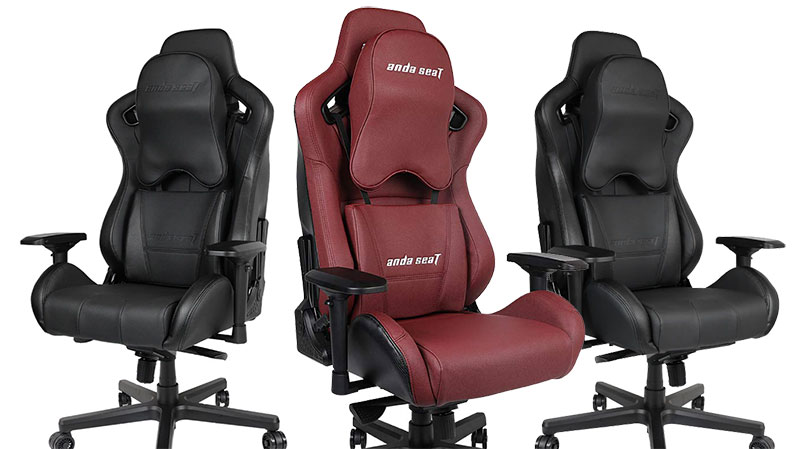 Anda Seat Dark Knight and Kaiser Series gaming chairs