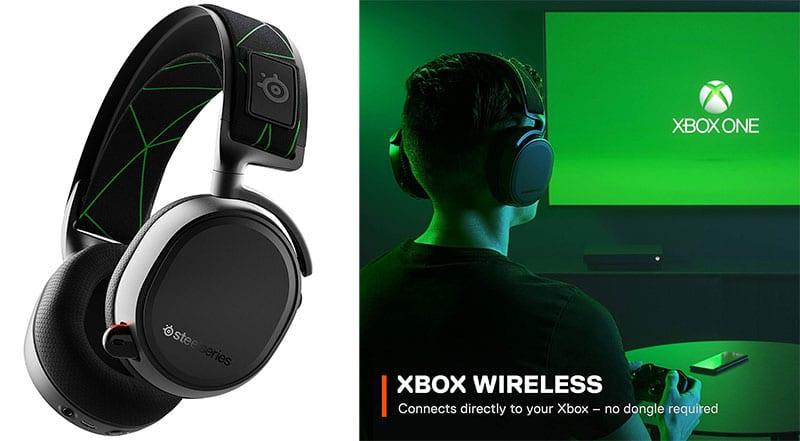 Steelcase Arctis 9X gaming headset