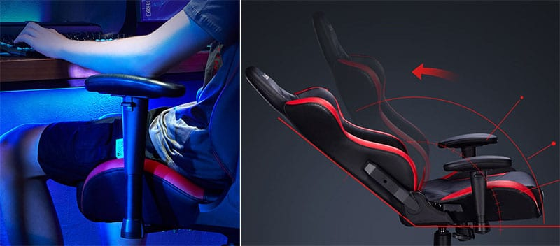 Autofull gaming chair features