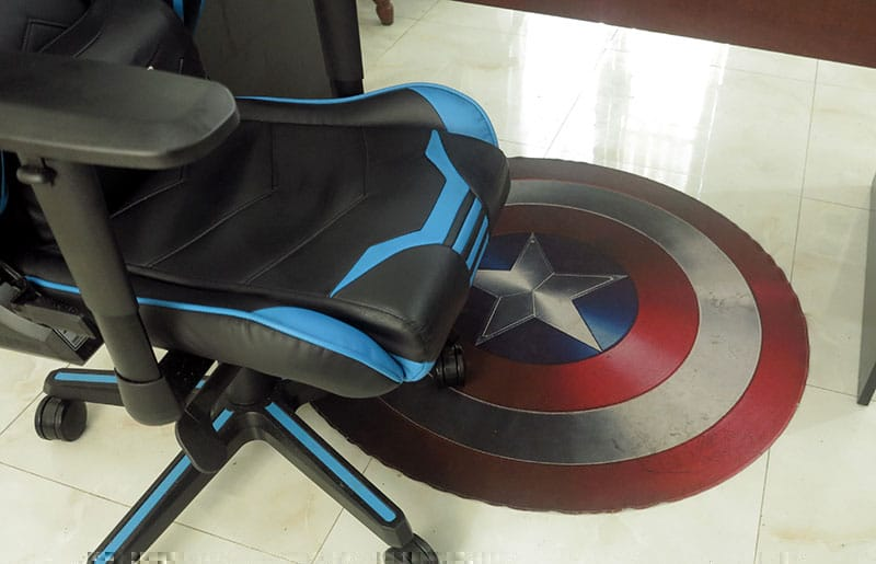 Good Quality Gaming Chair Floor Mats, Round Gaming Chair Mat