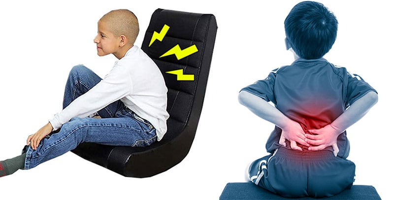 Console gaming chair health risks