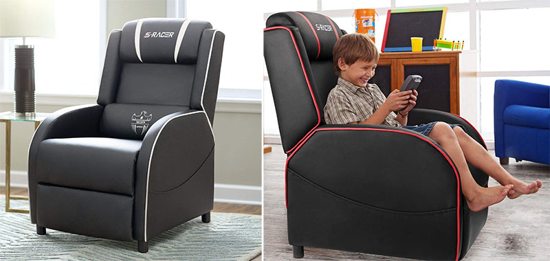 Homall gaming chair recliner