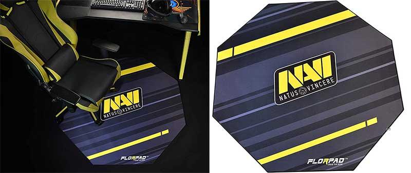 Natus Vincere gaming chair floor mat