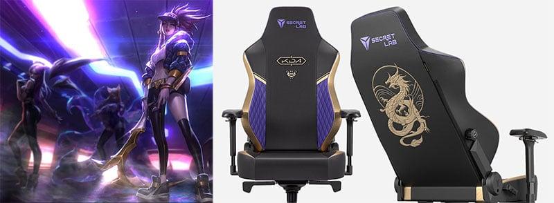 Secretlab K/DA gaming chair