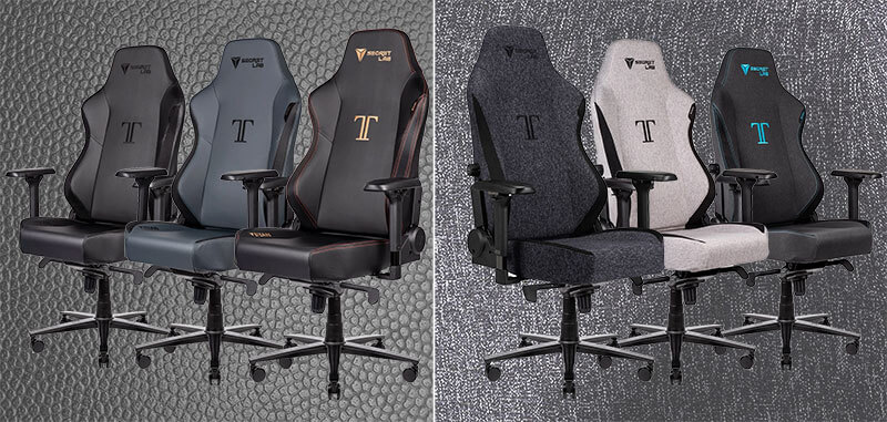 Secretlab Titan office style gaming chairs