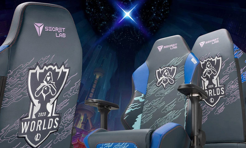 Secretlab League of Legends 2020 Worlds chairs