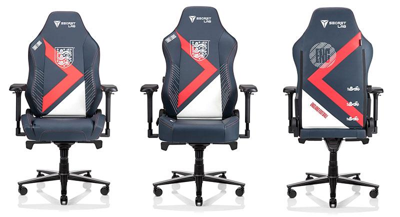 Secretlab Three Lions gaming chairs