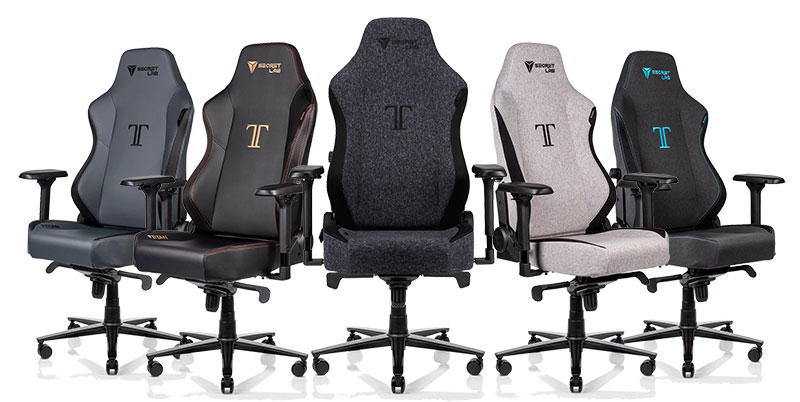 Titan gaming chairs for office workers