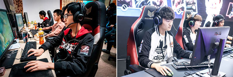 Victorage chairs for esports players