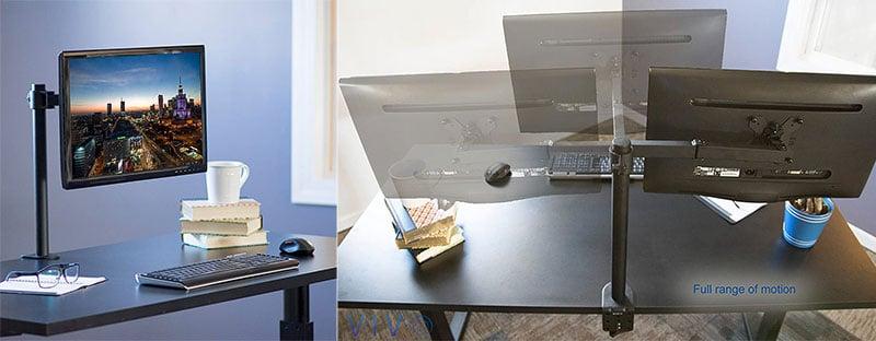 VIVO single monitor desk mount