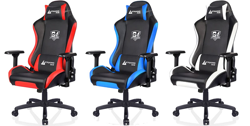 Ace S1 Series leather gaming chairs