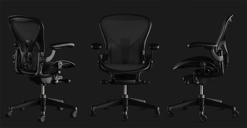 Herman Miller Aeron gaming chair