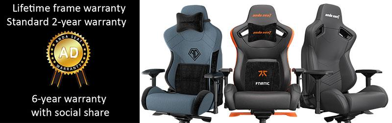 Anda Seat warranty