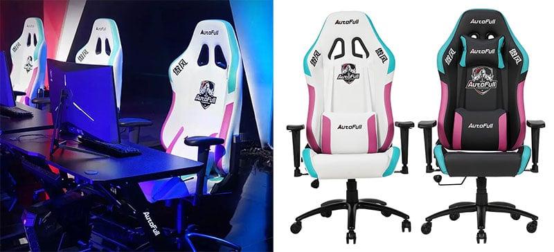 Autofull Neonpunk gaming chairs