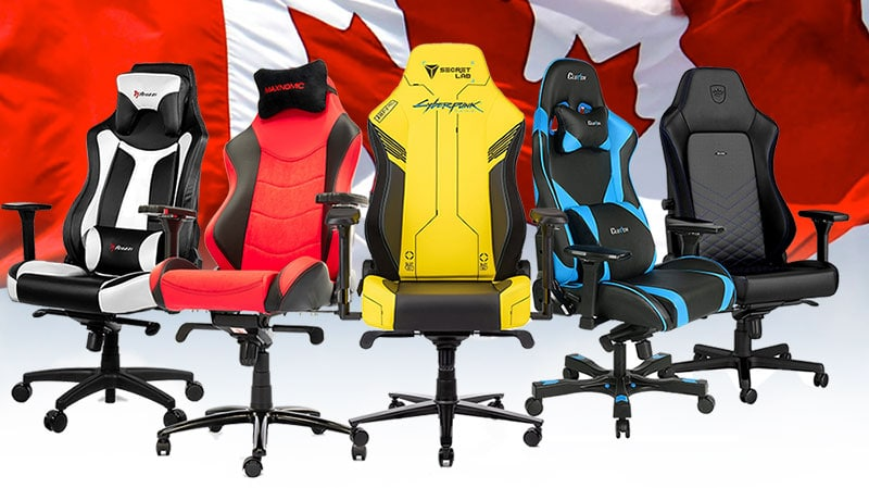 Best gaming chairs for Canadians