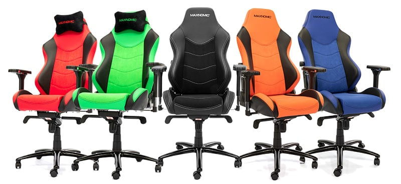 Maxnomic Dominator EE chair colors