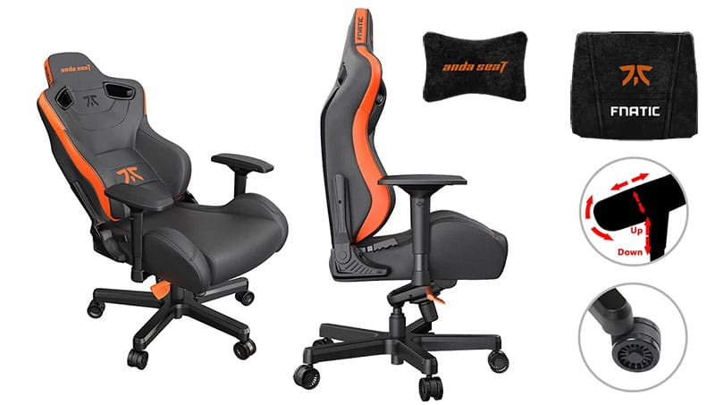 Fnatic gaming chair features