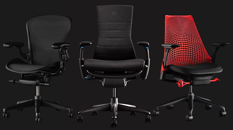 Herman Miller gaming chair collection