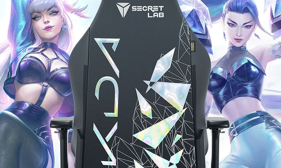 K/DA All Out gaming chair