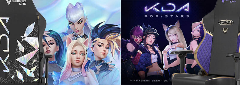 K/DA Pop Stars vs All Out