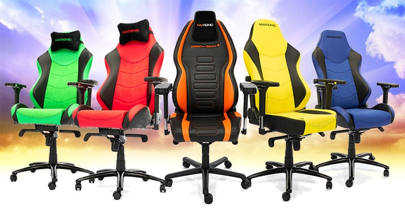 Maxnomic gaming chairs on sale in the EU