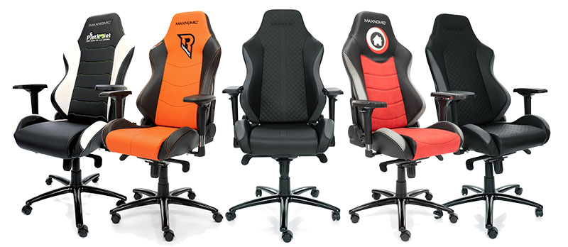 Maxnomic Pro chair designs